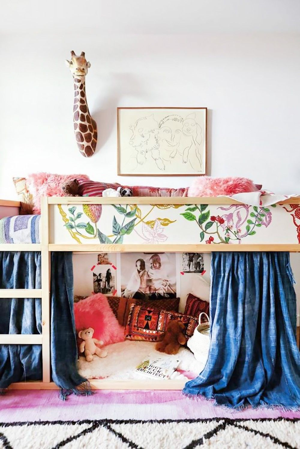 20 IKEA Bedrooms That Look Chic   Kid room decor, Colorful kids ...