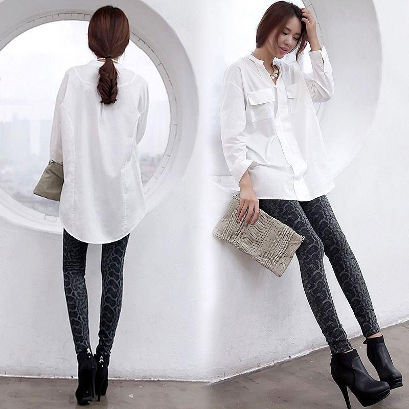 women-oversized-white-blouse-sexy-Boyfriend-long-shirts-roupas ...