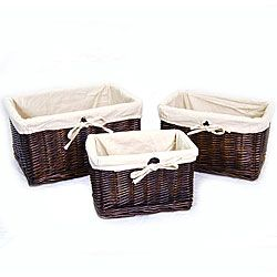 Awesome @Overstock   Wicker Storage Baskets Are The Ideal Solution For Organizing  Any Home Or Office Home Design Ideas