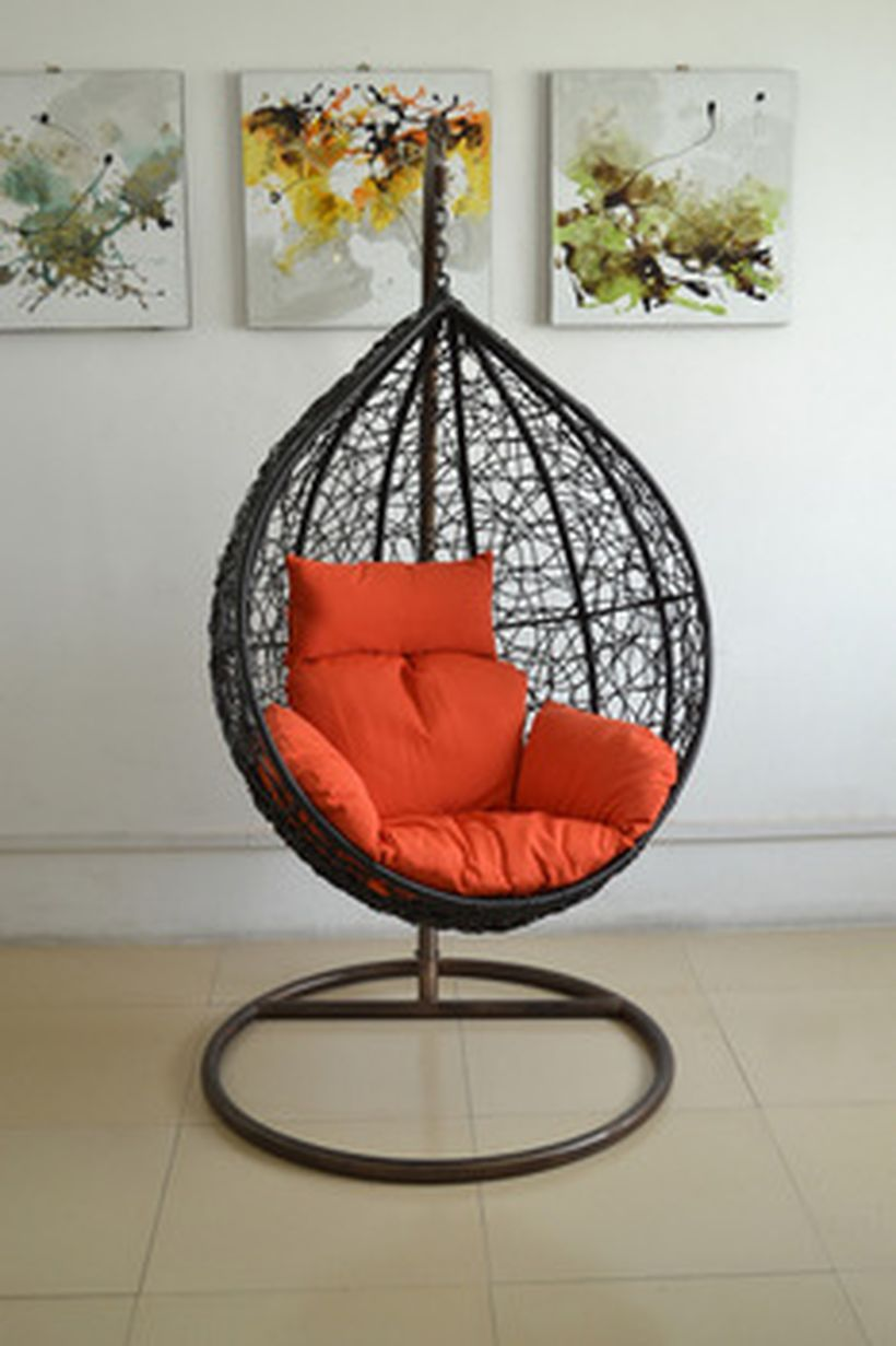40 Cool Hanging Swing Chair With Stand For Indoor Decor  Https://decomg.com/40 Cool Hanging Swing Chair Stand Indoor Decor/