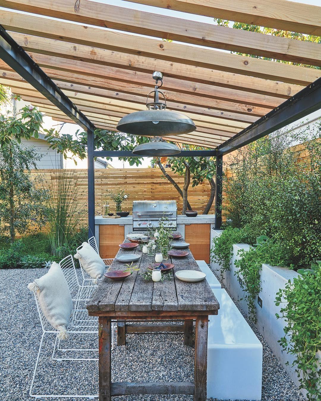 "19 Urban Dining Room Designs Decorating Ideas: Sunset Magazine On Instagram: ""Local Landscaper"