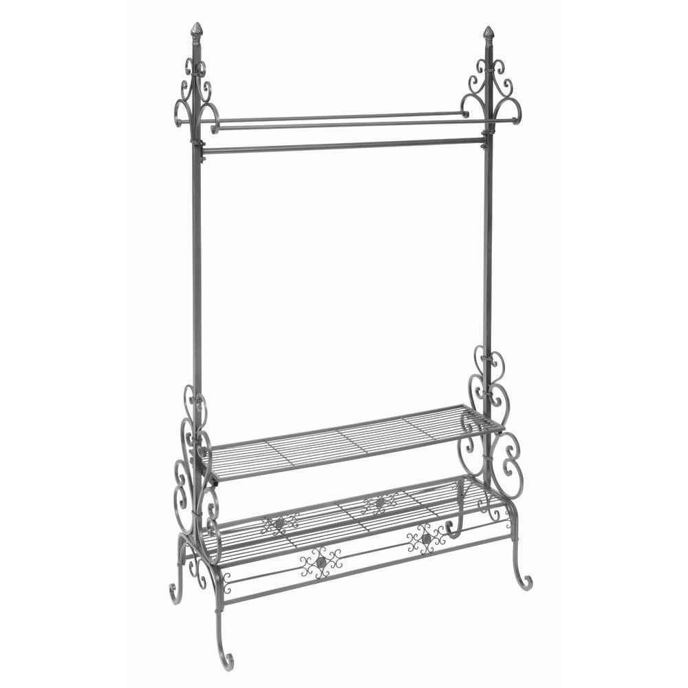 French Industrial Decorative Garment Rack #frenchindustrial