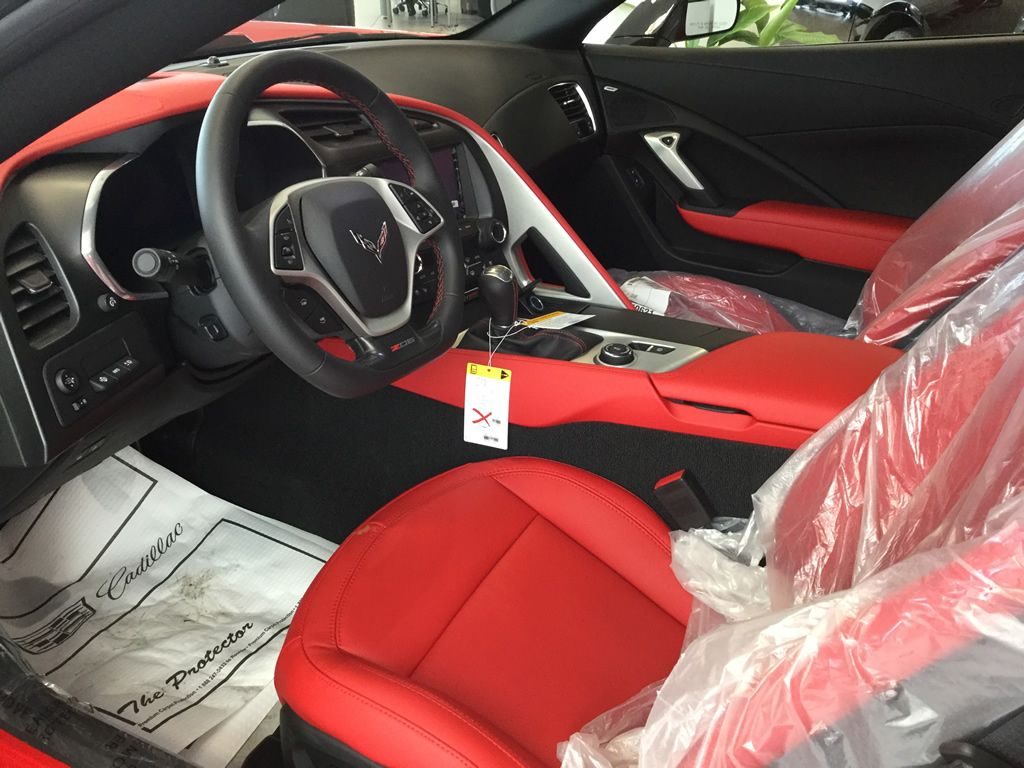 2016 Corvette Z06 Coupe in Torch Red with Adrenaline Red