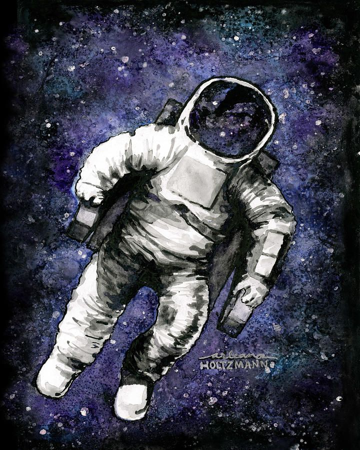 to an astronaut the outer space appears in which colour - photo #42