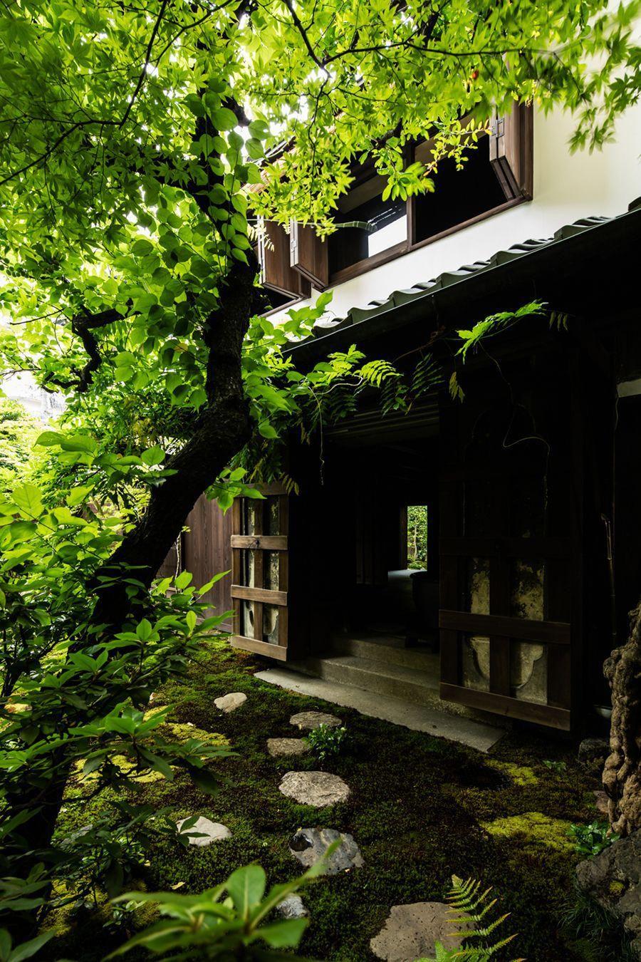 新釜座町の町家 JapaneseGardenTheme 庭園の小道, 日本庭園, ガーデン デザイン