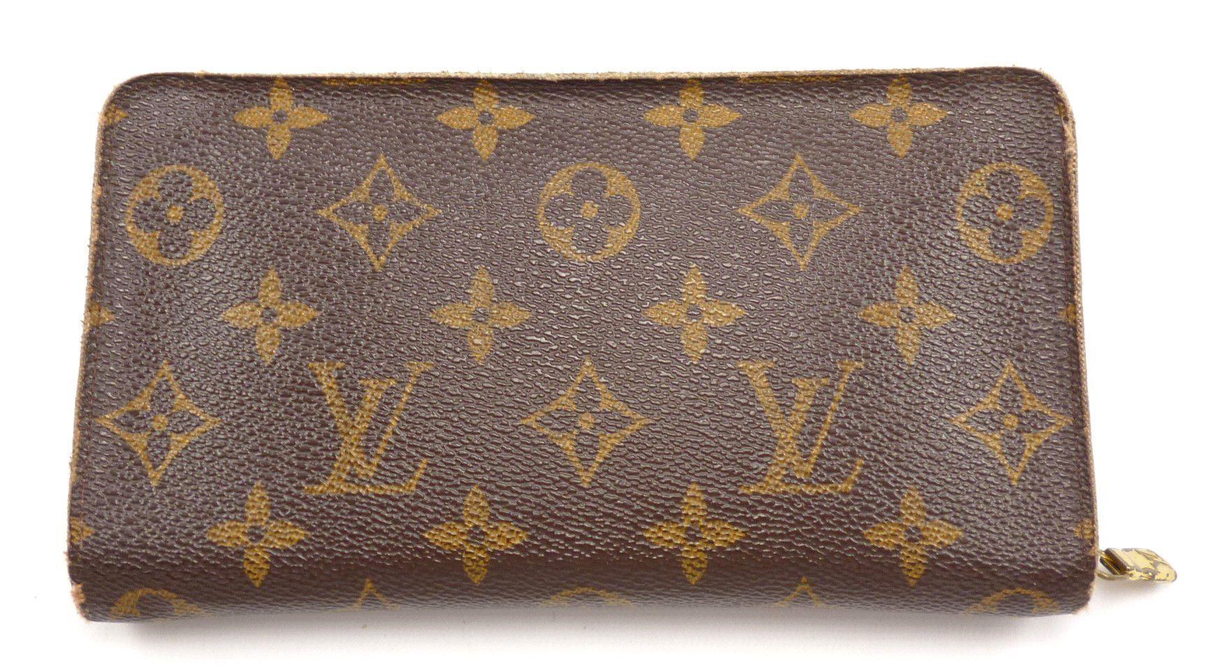 84bca2e78f1c Louis Vuitton Authentic Mens Wallet Monogram Canvas Leather Bi