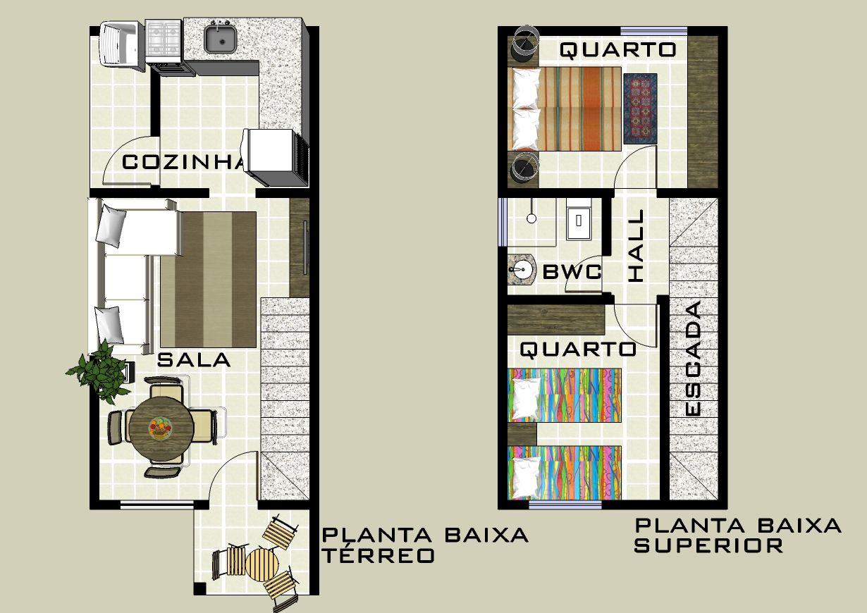 Famosos plantas de casas duplex com 2 quartos e garagem - Pesquisa Google  EE62