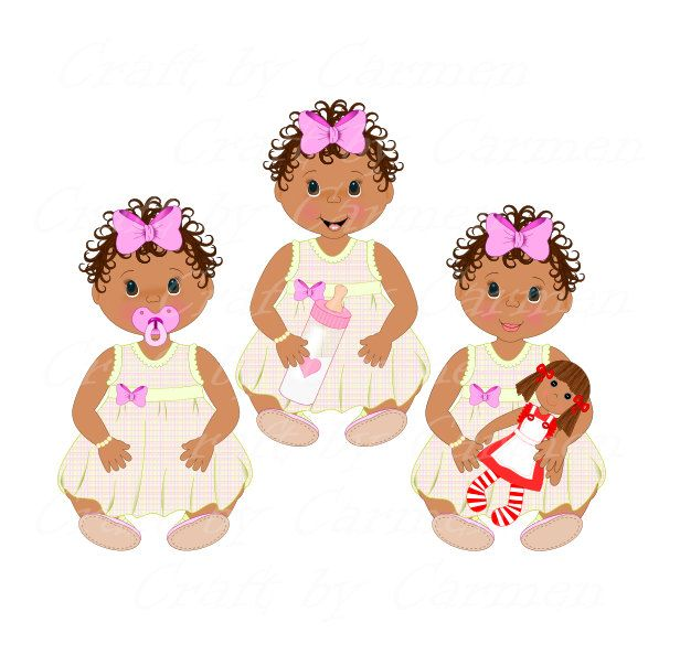 Baby girl,babies clipart,baby shower clip art,cute baby,digital ...