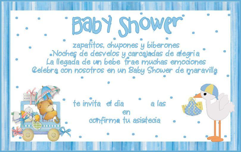 Invitacines Baby Shower Para Imprimir Nio Imagui Baby Shower Ni O Ideas Im  Genes Mil 810x510