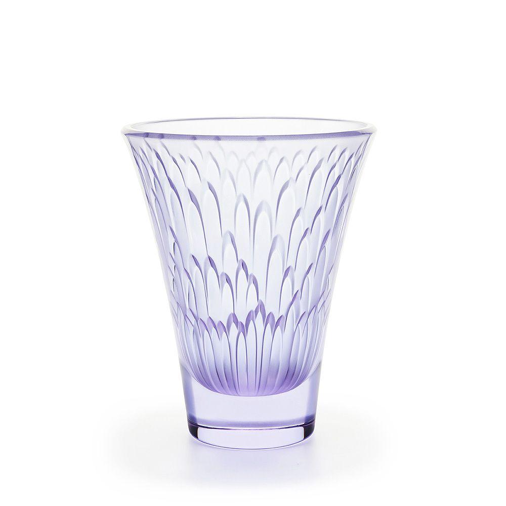 Flora bella vase blue lavender dichroic crystal vase lalique flora bella vase blue lavender dichroic crystal vase lalique lalique vase de cristallavandevasesla flore floridaeventfo Image collections
