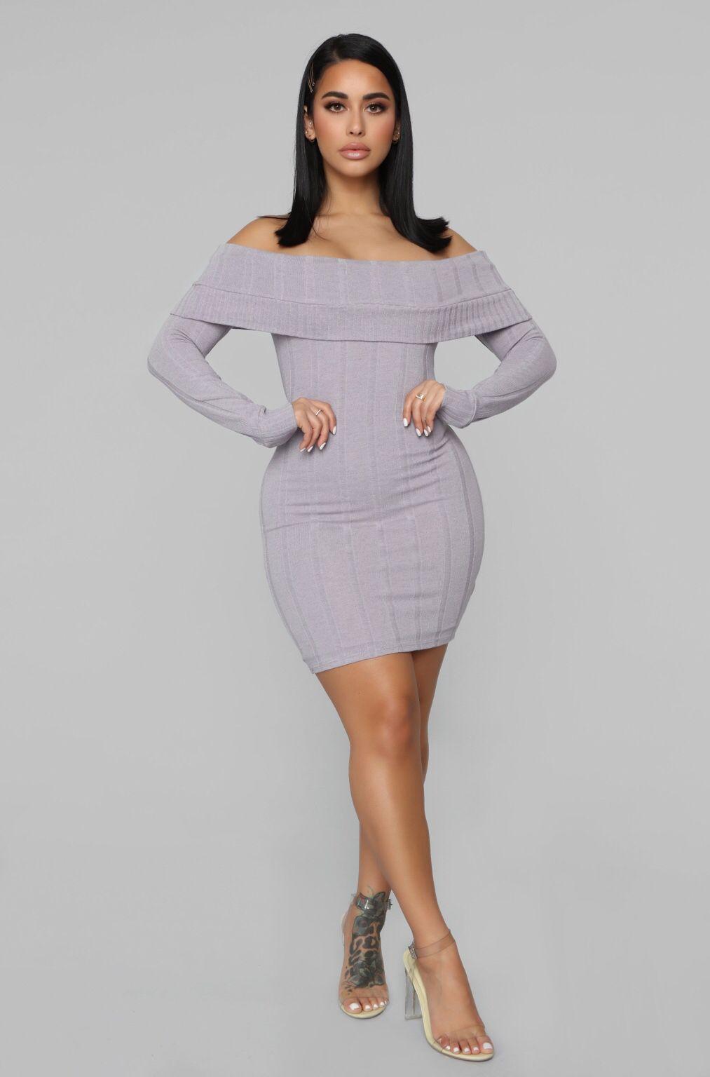 cc23ef92919 Exposing My Soft Side Sweater Dress - Lavender Cheap Streetwear