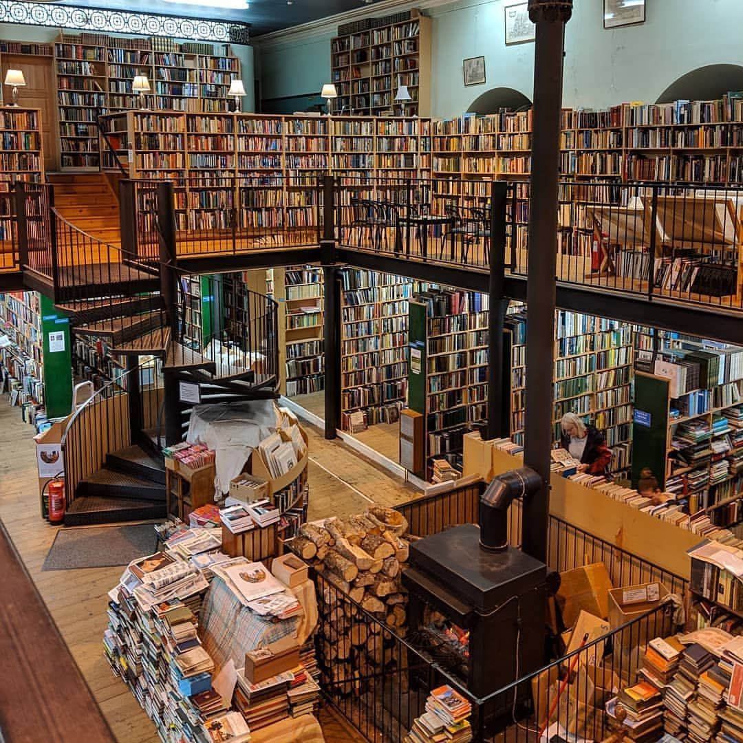 Here Is Leakey S Bookshop A Hidden Gem Of Inverness And A Book Lovers Paradise Mozicofo Has Visited Have You Inverness Inverness Scotland Bookshop