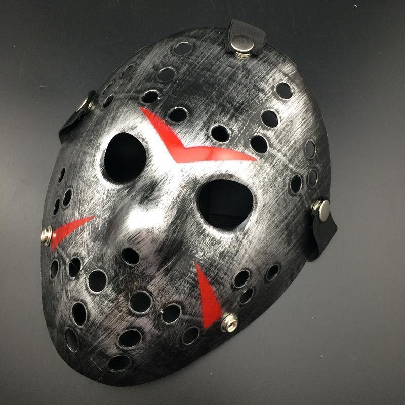 RU4170 Morris Costumes New Jason The 13th Myers Prop Horror Hockey Foam Mask