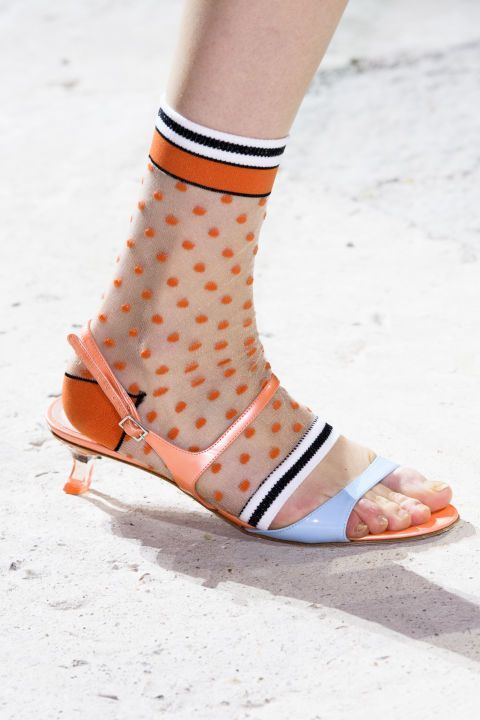 Hosiery Trends 2020.The Best Shoes Of Fashion Week Ss18 Shoe Sophistication