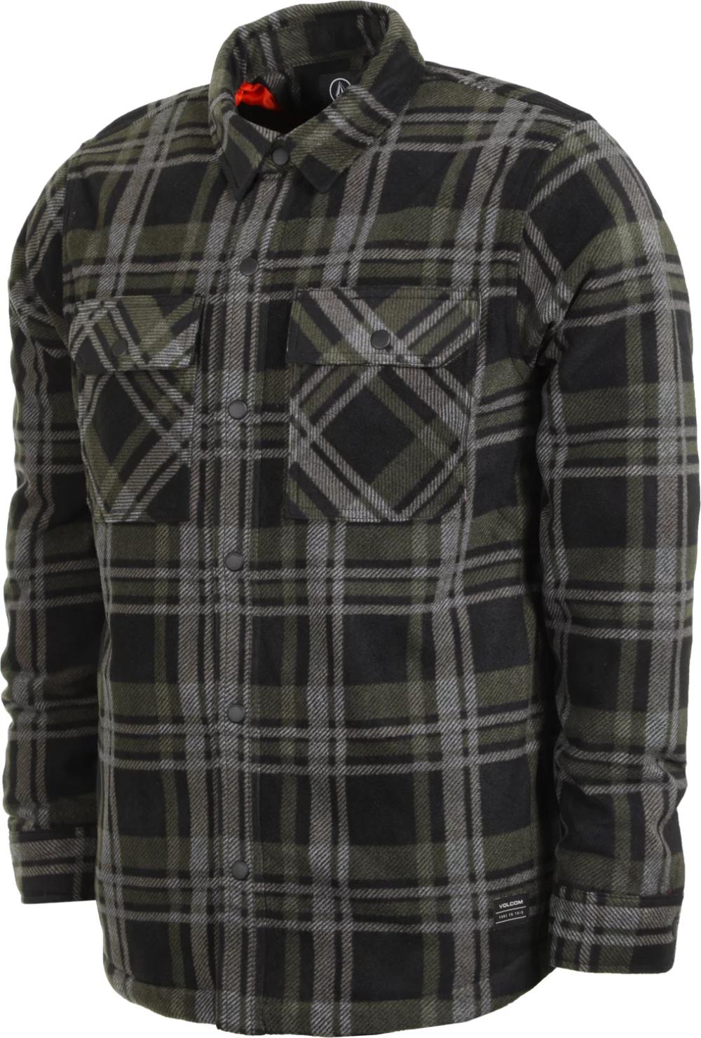 Volcom Mens Bower Polar Fleece Shirt