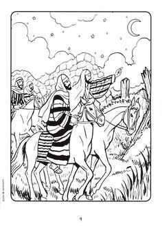 Image result for coloring page Nehemiah chapter 2