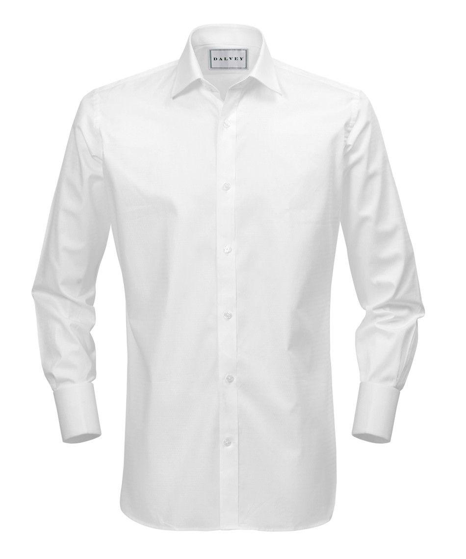 Classic Fit Wedding White Shirt