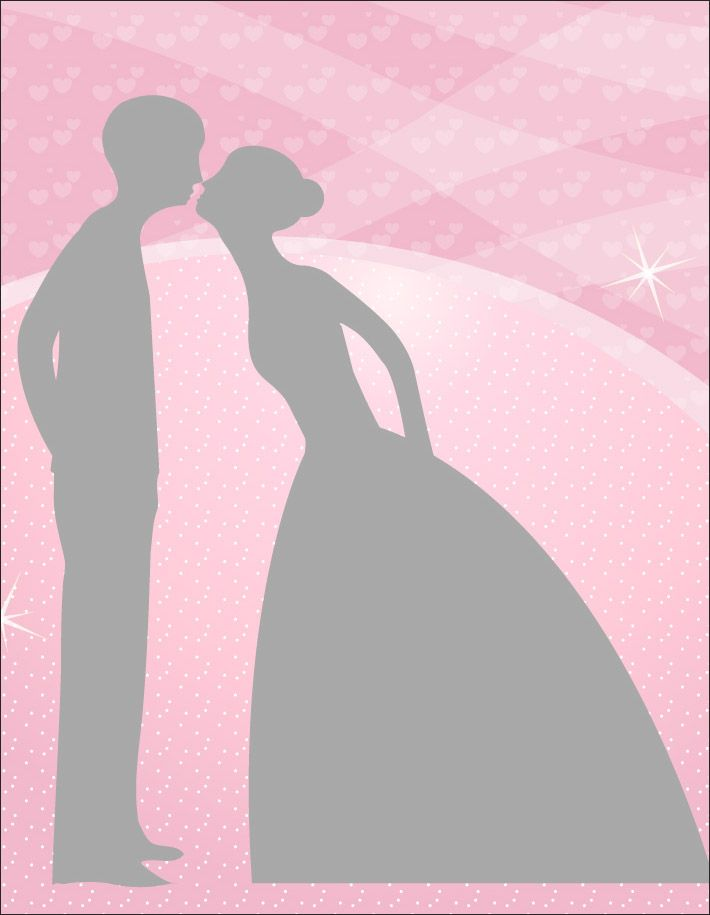 ROMANTIC COUPLE ON PINK PRINTABLE BACKGROUND WOULD BE NICE FOR - free printable wedding shower invitations templates