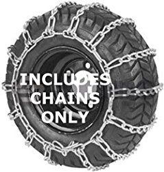Security Chain Company 1061856 Max Trac Snow Blower Garden Tractor Tire Chain Snow Blower Tractor Tire Snow Blowers