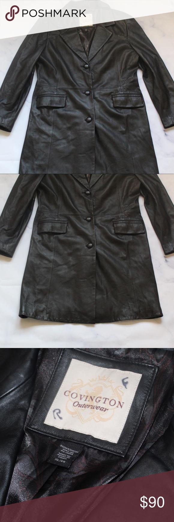 Covington Vintage Leather Jacket Vintage Leather Jacket Leather Jacket Jackets [ 1740 x 580 Pixel ]