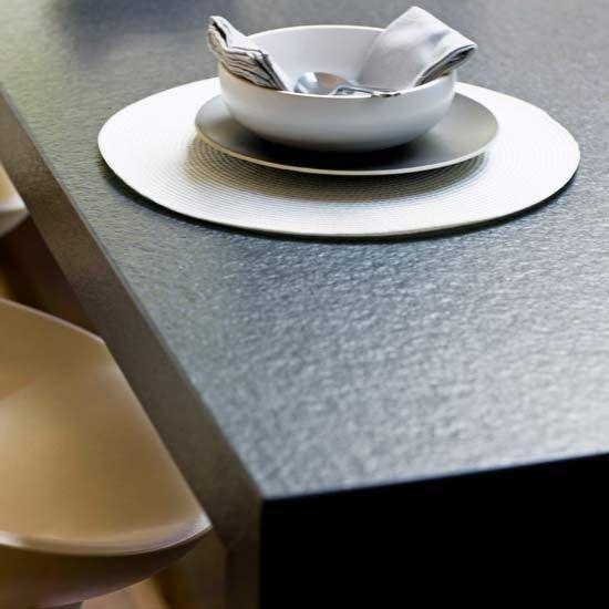 Schwarzer #Granit #Nero #Assoluto India, auch als Absolute Black - küchenarbeitsplatte aus granit