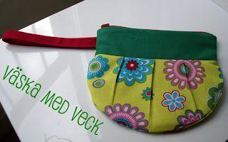 Sofia-Sobeide the old blog: Tutorial: Väska med veck