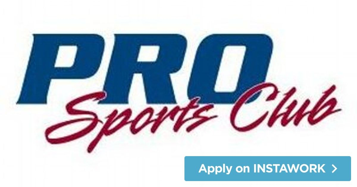 Pro Sports Club (PRO Sports Club) in Bellevue is hiring a