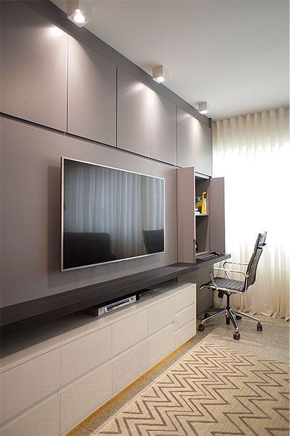 Pin By David Meneces On Tv Moderno: Sala Da Família (com Imagens)