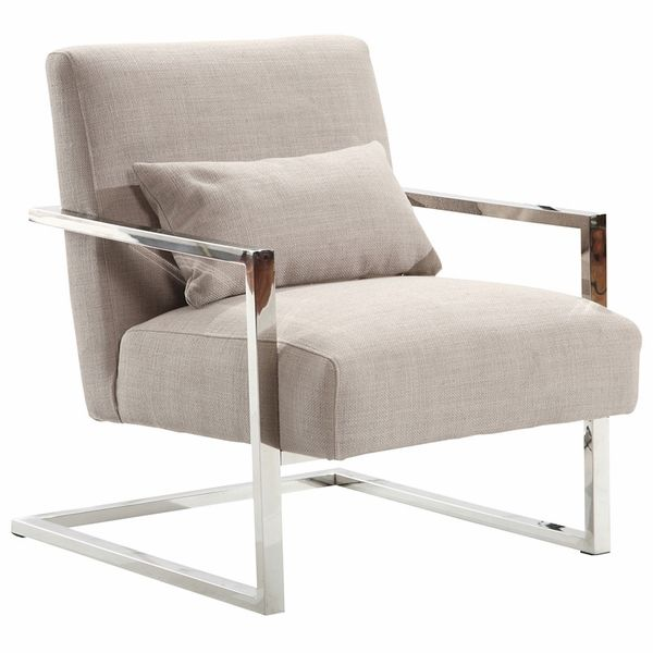 Skyline Modern Accent Chair Fabric Accent Chair Comfortable