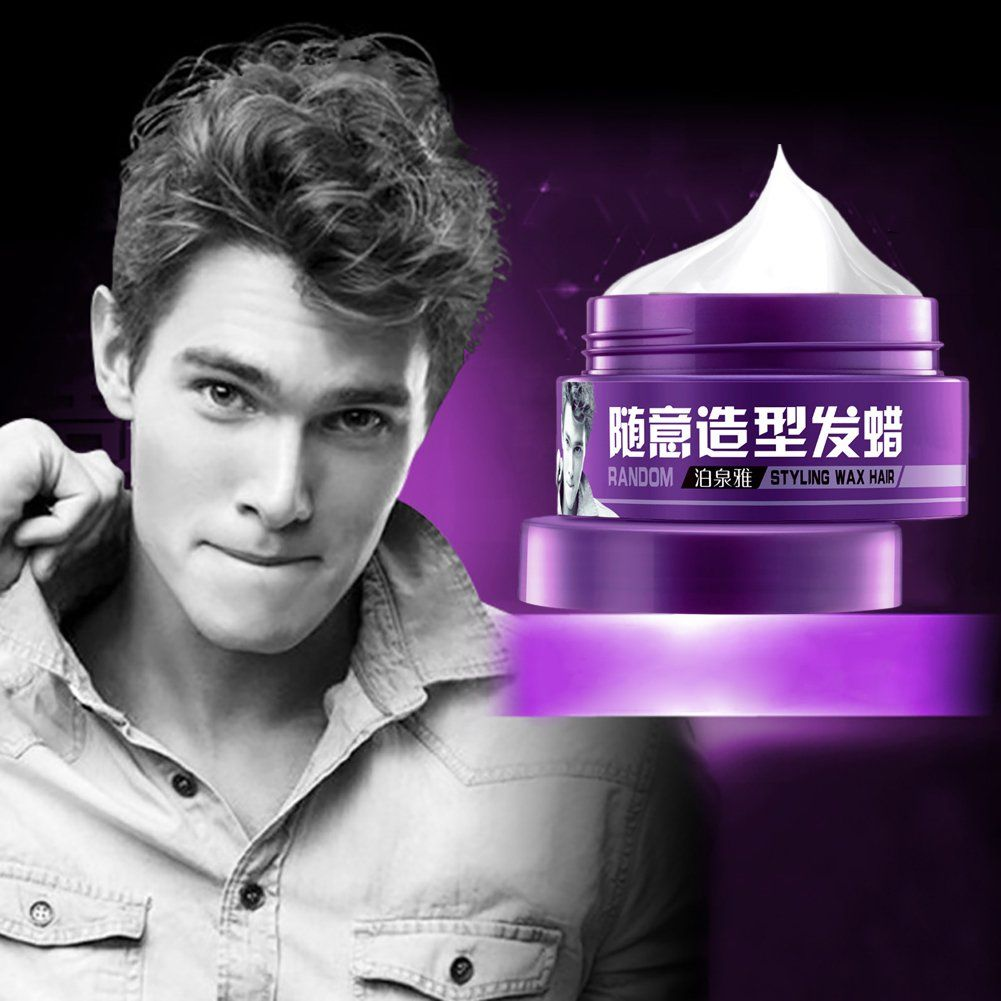 Hanyia Hair Wax Hair Styling Long Lasting Hairstyle Stereotypes Moisturizing For Men You Can Find Out More Details At Hair Wax Mens Hairstyles Mens Pomade