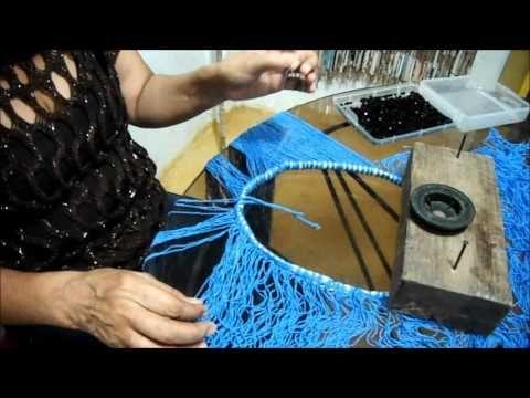Macramé Abrigo Decorativo - YouTube