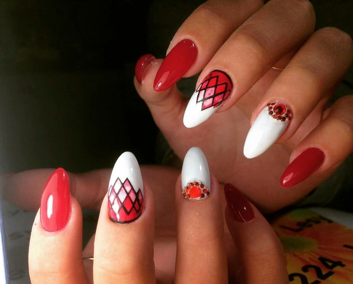 Pin von Lena auf #NaiLs   Roter nagellack, Nagellack