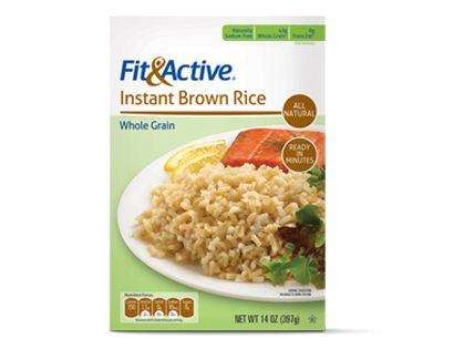 Fit Active Instant Brown Rice 1 29 150cal P S Food N Such
