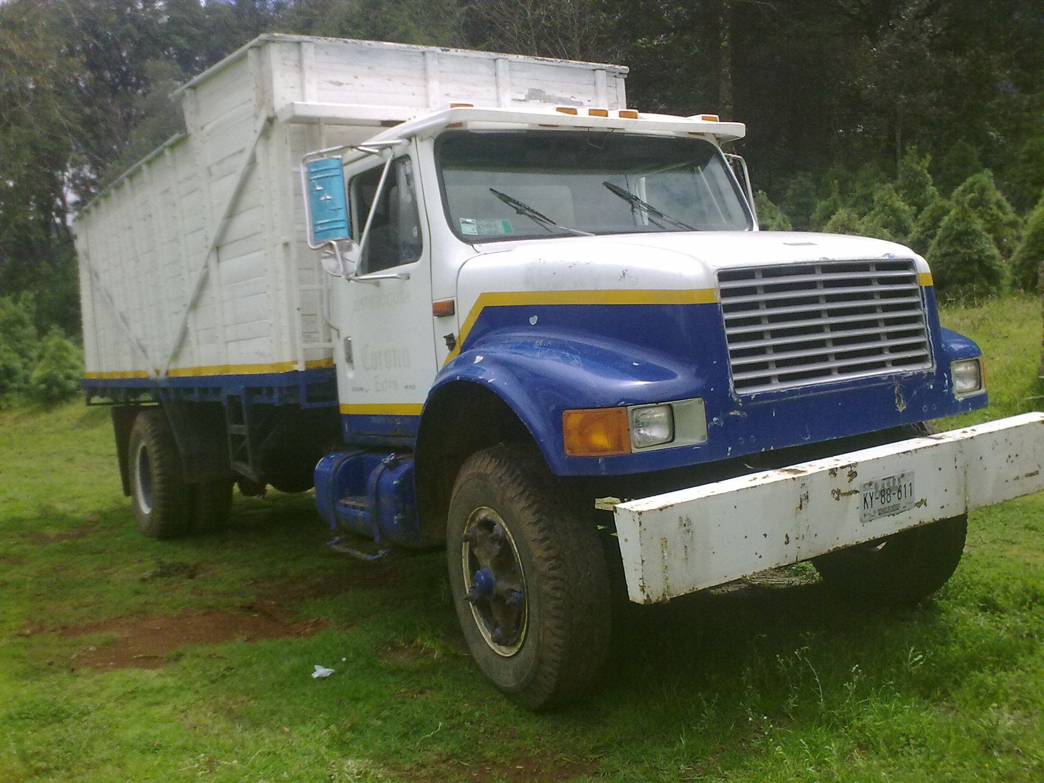 Camion Dina 1991 Motor Perkins Fase 4 5 Cambios Placas Y