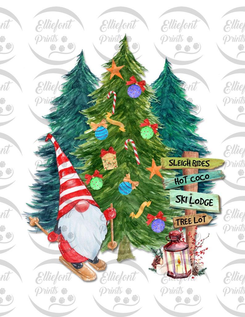 Christmas Ski Gnome Sublimation Png File Christmas Holiday Etsy In 2020 Christmas Drawing Scandinavian Christmas Decorations Gnomes