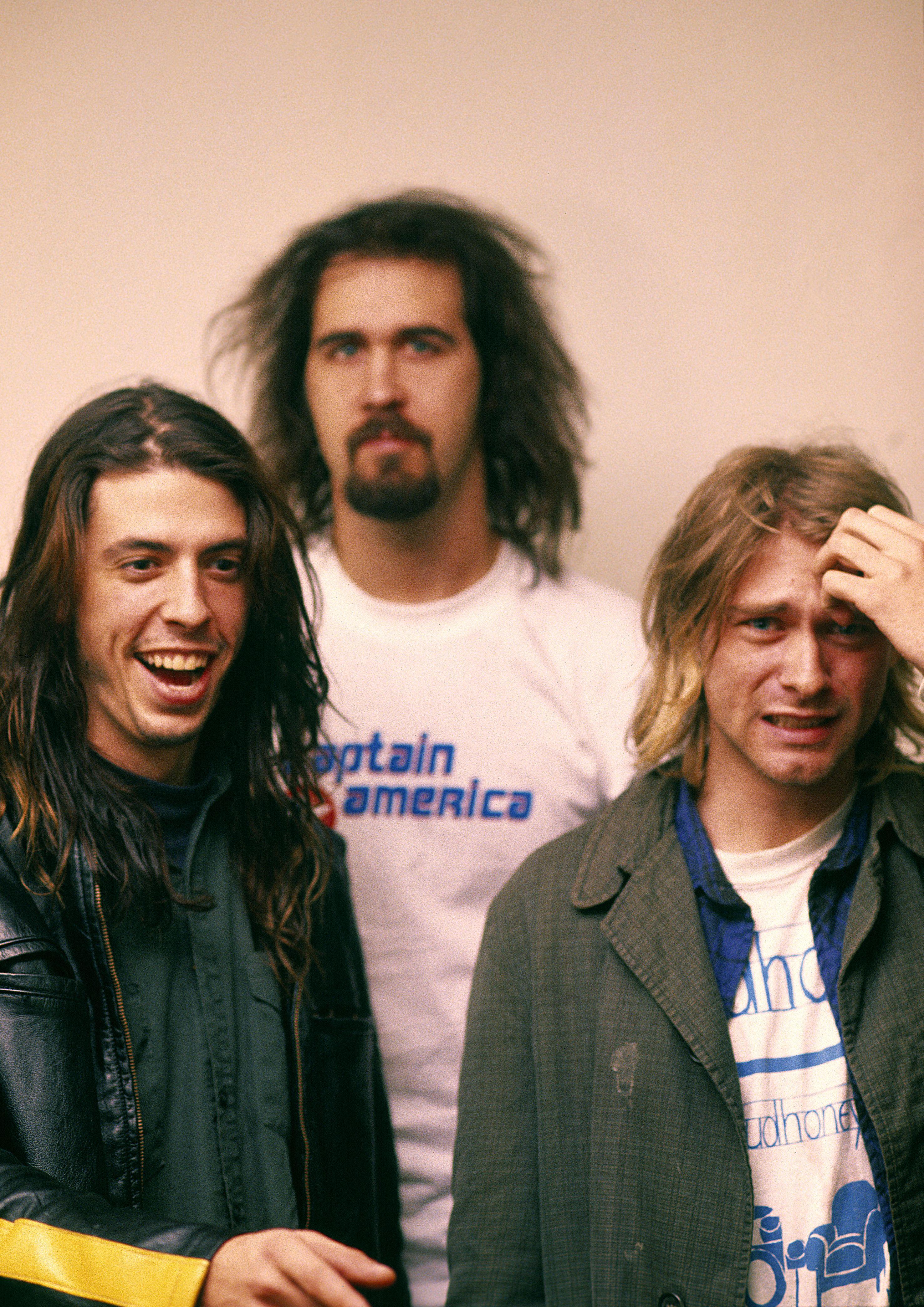 Nirvana 11 13 91 Munich Germany Nirvana Dave Grohl Nirvana Kurt [ 4176 x 2953 Pixel ]