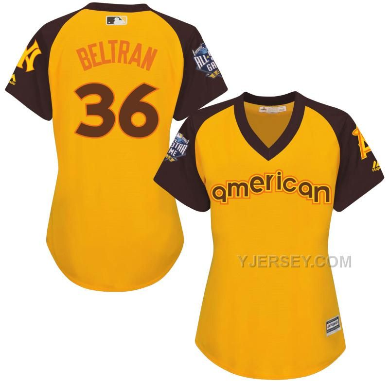 Discount Mariners 22 Robinson Cano Yellow Women 2016 All-Star Game Cool  Base Batting Practice Player Jersey 101c3aa547