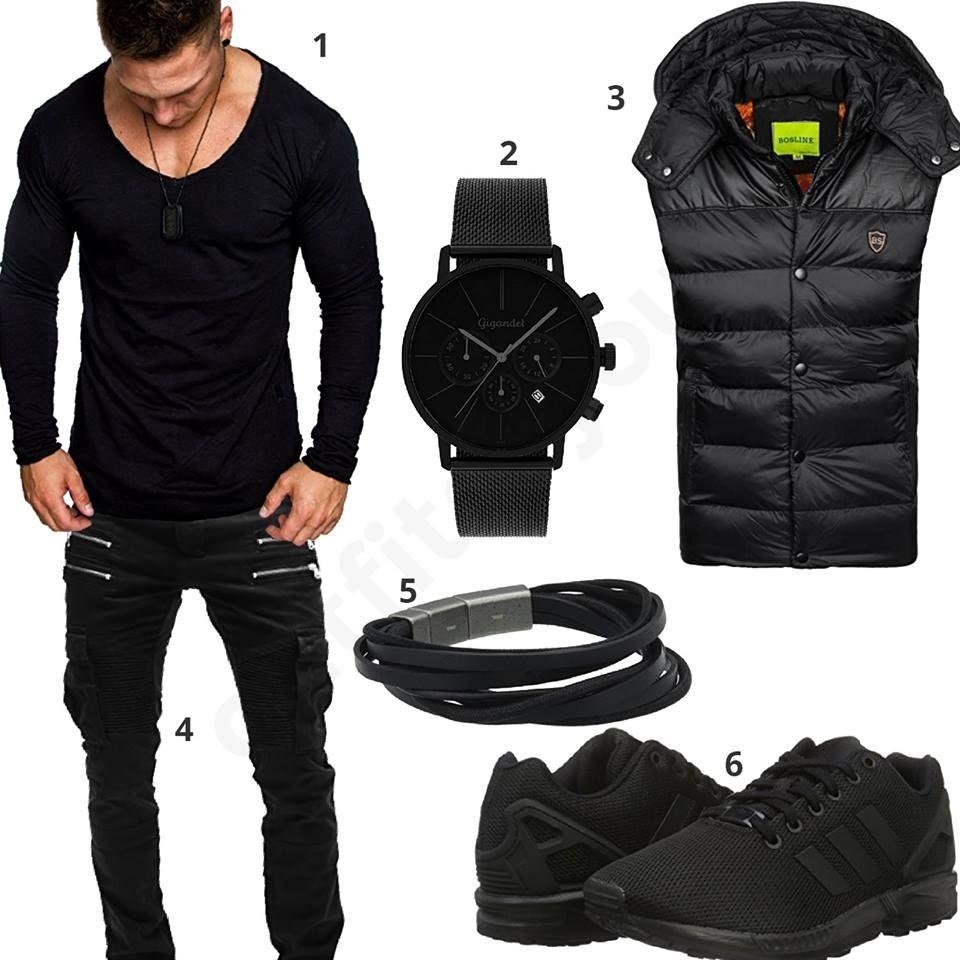 Schwarzes Herrenoutfit Fur Den Herbst 2018 Personal Style