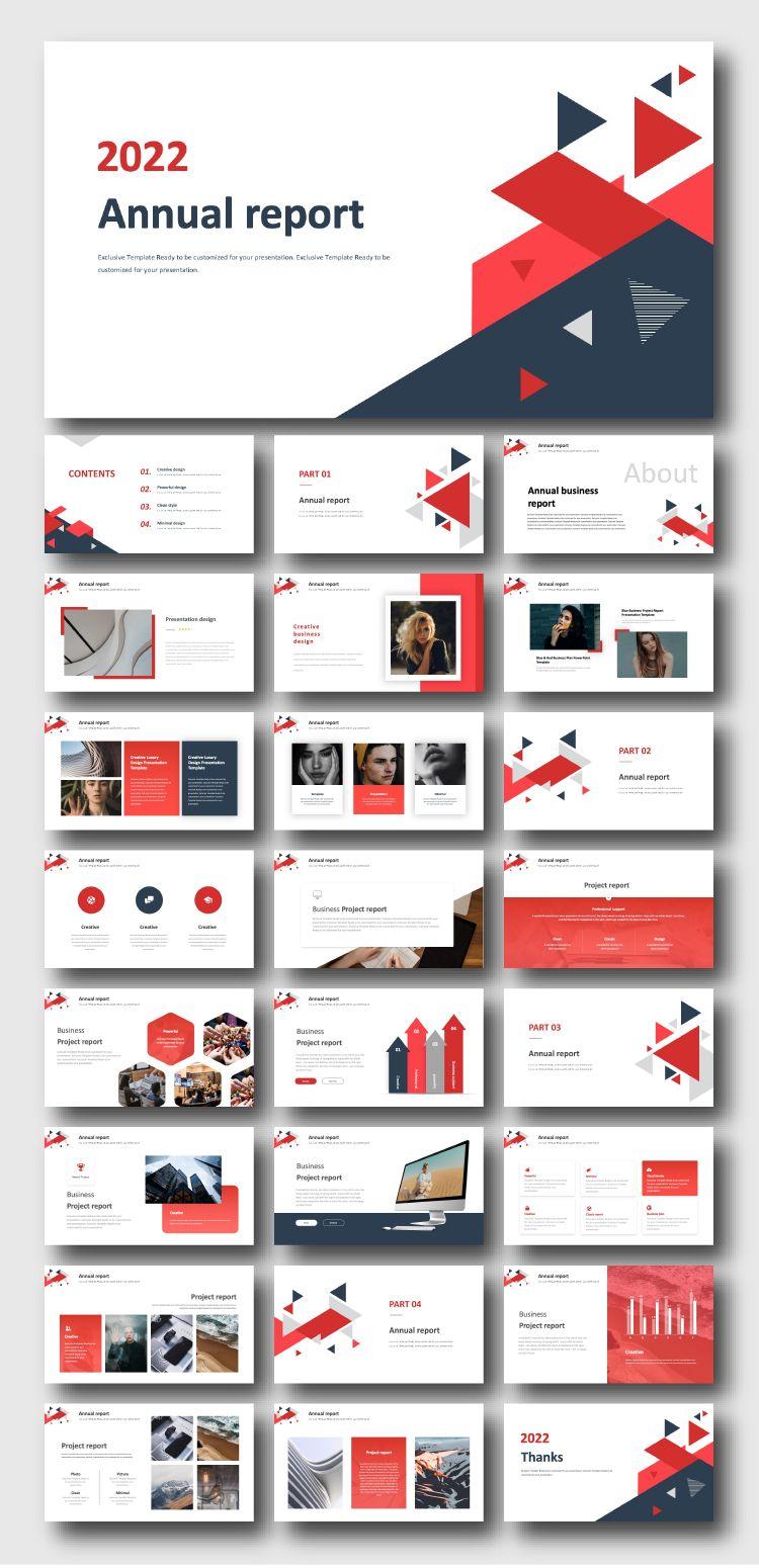 A Company Portfolio Business Plan Presentation Template di