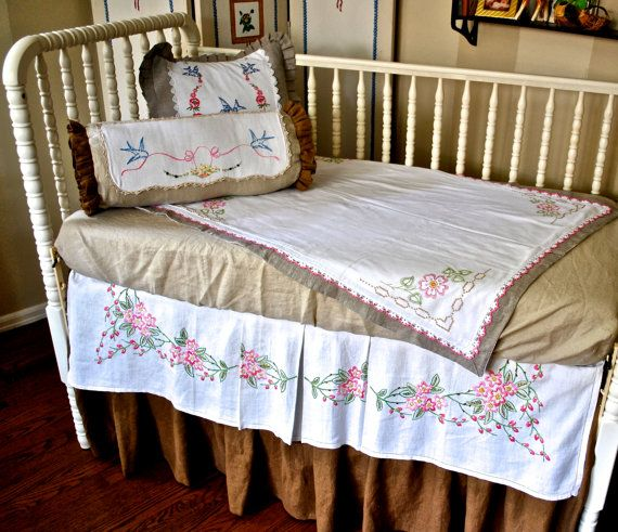 Shabby Chic Crib Bedding Baby Bedding Beautiful