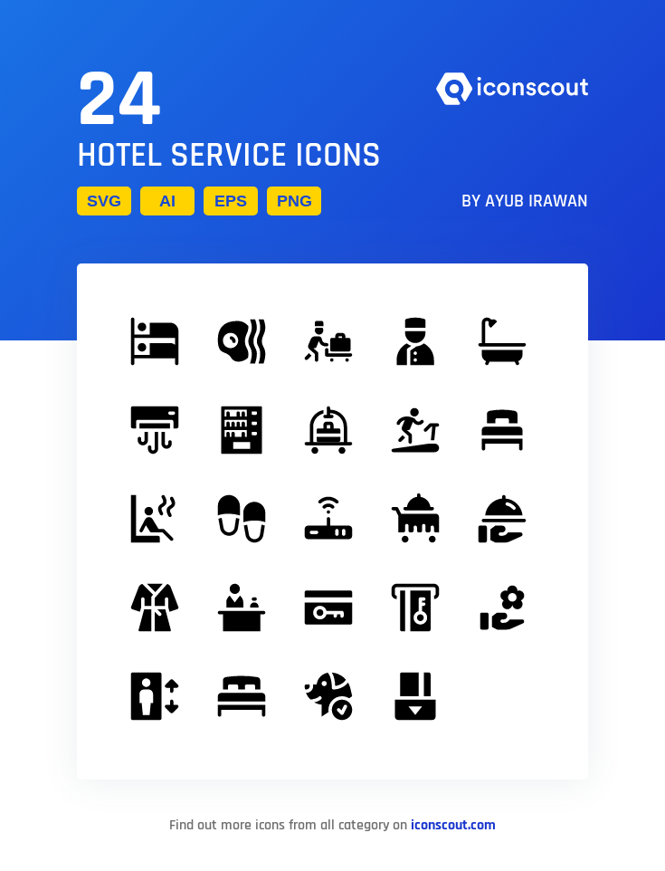 Download Hotel Service Icon Pack Available In Svg Png Eps Ai Icon Fonts Hotel Services Icon Icon Collection