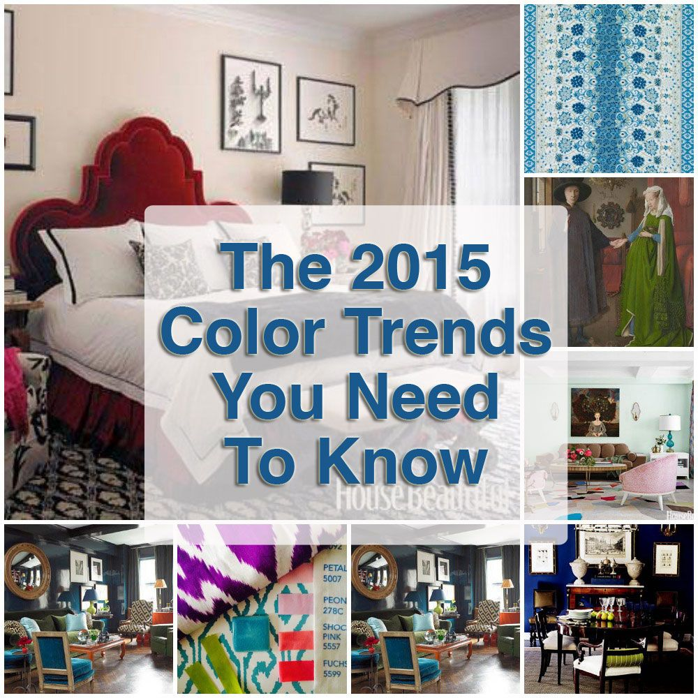 The 2015 color trends you need to know now muebles for Trends muebles