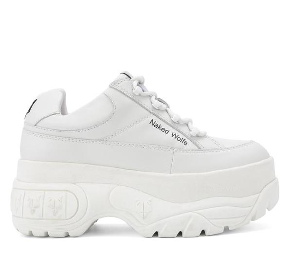 Sneakers Sporty 2019Wishlist White En Leather Platform j4L35AR