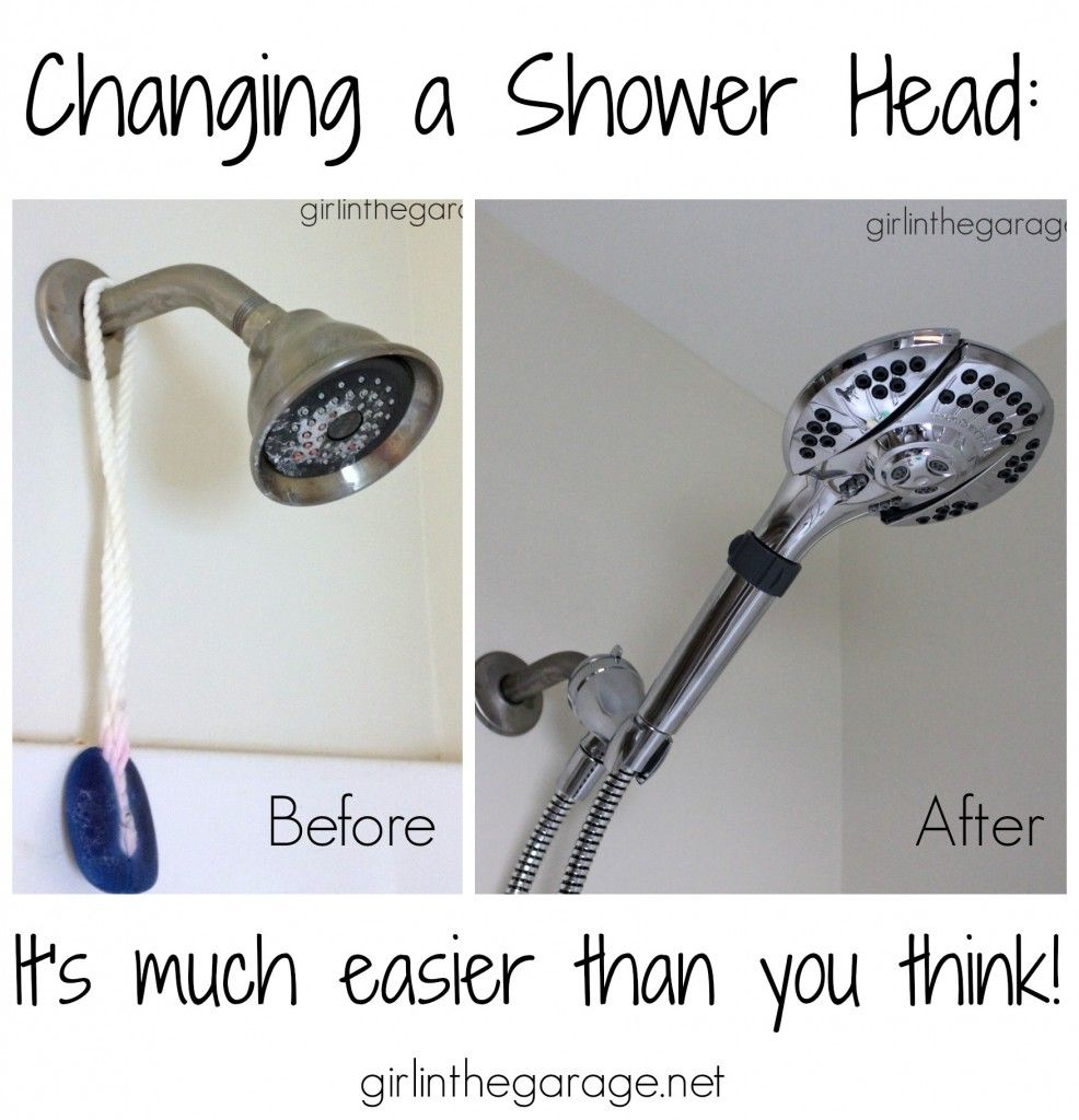 Changing A Shower Head It S Easier Than You Think Shower Heads