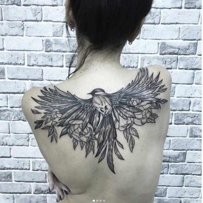 Значение тату птицы: 30+ фото и вся правда о татуировке с ...