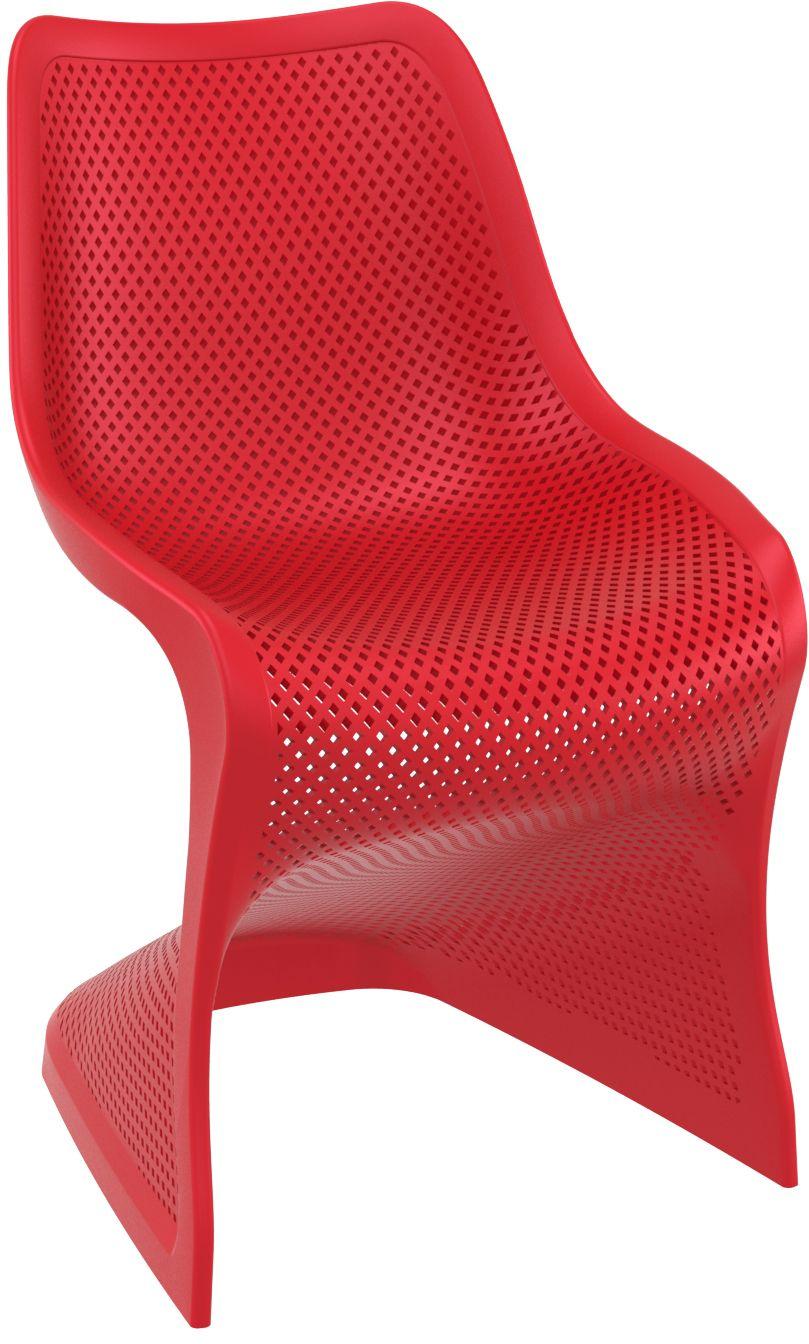 Silla BLOOM Silla para uso interior y exterior. Inyectada en fibra ...