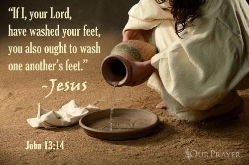 Image result for image John 13:14