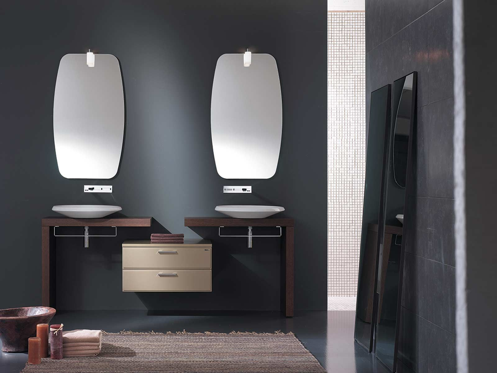Secondo Bagno ~ Best bagno images s mirrors bathroom and