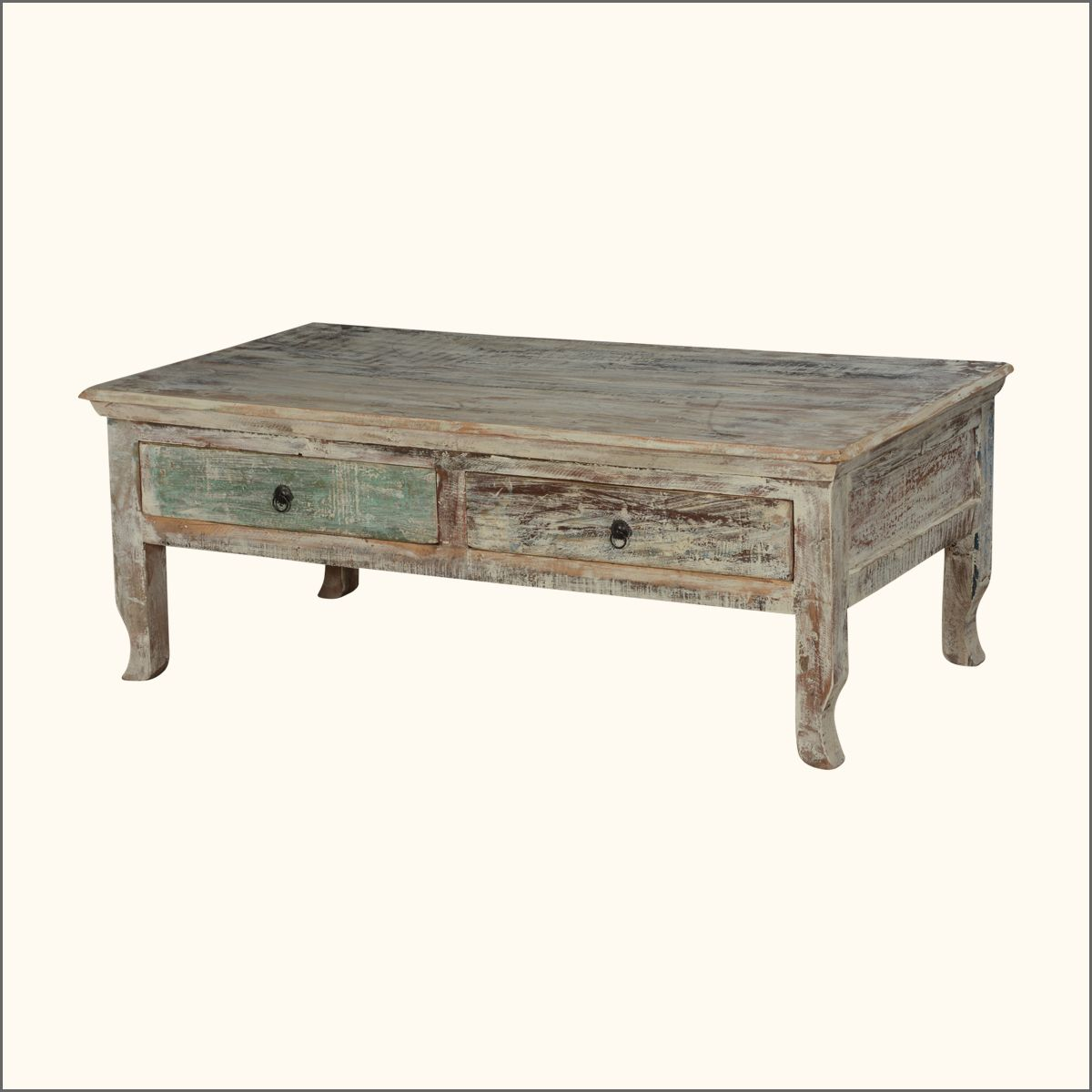 Winter Storm Reclaimed Wood Coffee Table W 2 Drawers In 2021 Reclaimed Wood Furniture Coffee Table Reclaimed Wood Coffee Table [ 1200 x 1200 Pixel ]