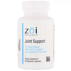 Zoi Research ジョイントサポート ベジカプセル60粒 강황 자연요법 땅콩